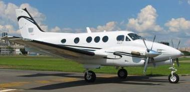 charter flight king air c 90