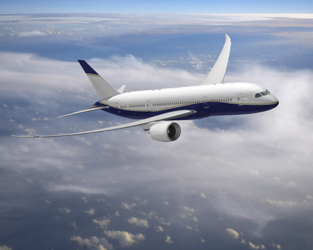 charter flight Boeing BBJ