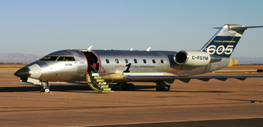 charter flight Challenger 605