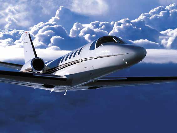 charter flight Citation Bravo