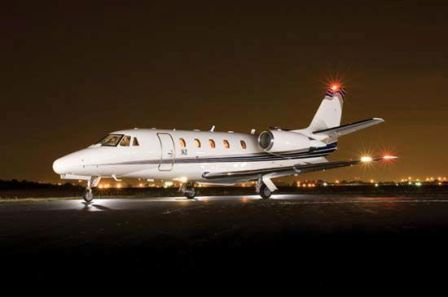 charter flight Citation XLS