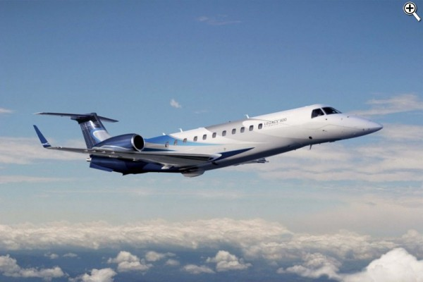 charter flight Embraer Legacy 600