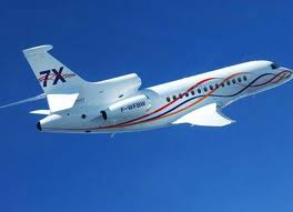 charter flight Falcon 7x