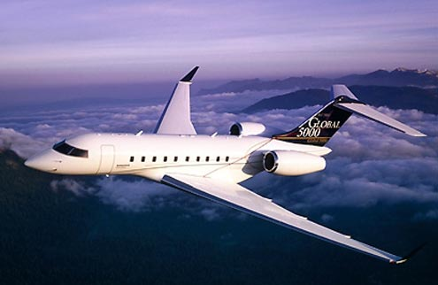 charter flight Global Express / Global XRS