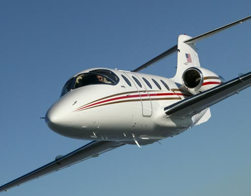 charter flight Hawker 400