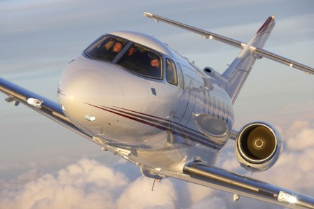 charter flight Hawker 850 XP